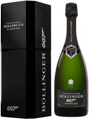 Bollinger 007 Limited Edition SPECTRE Millesime 2009, dressed to kill