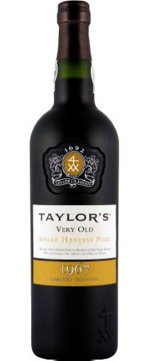 Taylor's 1967 Single Harvest Tawny Port