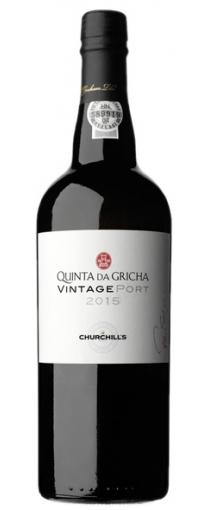 Churchill's Quinta da Gricha Vintage Port 2015