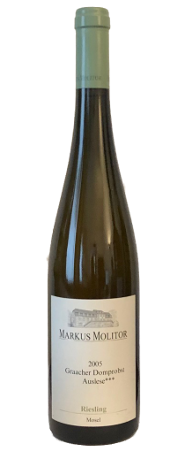 Markus Molitor Graacher Domprobst Auslese *** Riesling 2005