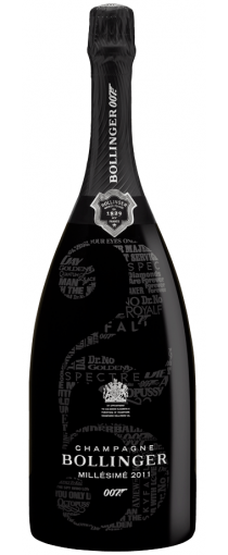 Bollinger 007 Limited Edition 'No Time To Die' Magnum