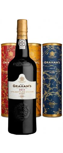 Graham's Late Bottled Vintage 2015 Bicentenary Commemorative Edition in luxe tube