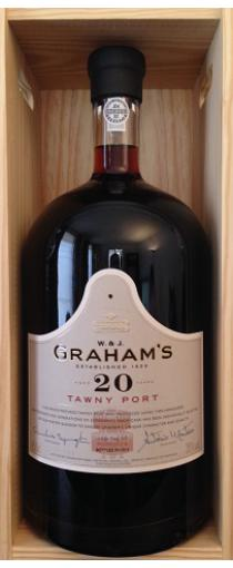 Graham's 20 Years Old Tawny Port (4,5 ltr in kist)
