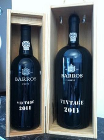 Barros Vintage Port 2011 nu in huis!