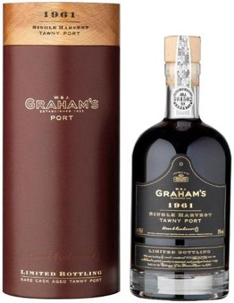 Graham's 1961 Single Harvest Tawny Port