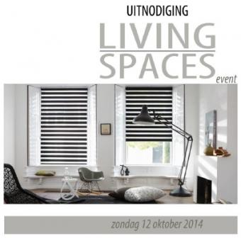 Uitnodiging Living Spaces event