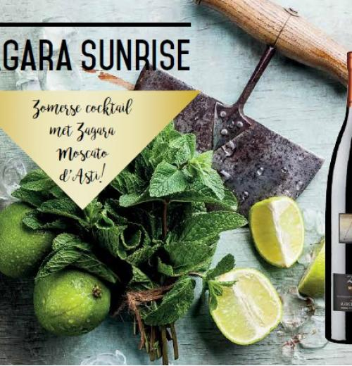 Zomerse cocktail: Zagara Sunrise