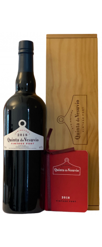 Quinta do Vesuvio 2018 Vintage Port in luxe geschenkkist